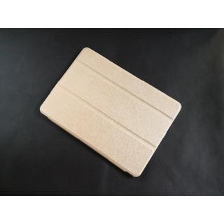 薄型軽量 iPad 6世代/5世代/Air/Air2 ゴールド スマートケース(iPadケース)