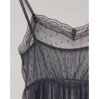 イチナナキュウダブルジー(179/WG)のチュールキャミワンピ(ロングワンピース/マキシワンピース)