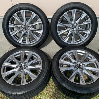 マツダ - cx8 純正タイヤホイール TOYO  19インチ 高輝度塗装