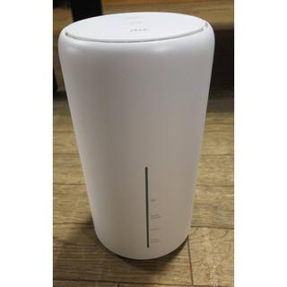 UQ WiMAX Speed Wi-Fi HOME L02 ホームルーター(PC周辺機器)