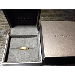 グッチ(Gucci)のGUCCIアイコンリング 18K(リング(指輪))