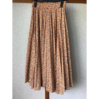 ミラオーウェン(Mila Owen)のミラオーウェン エスパンディ柄セットアップスカート(ロングスカート)