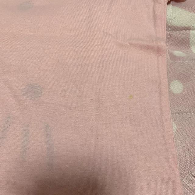 しまむら(シマムラ)のキティーちゃん半袖ピンク90 キッズ/ベビー/マタニティのキッズ服女の子用(90cm~)(Tシャツ/カットソー)の商品写真