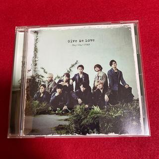 ヘイセイジャンプ(Hey! Say! JUMP)のGive Me Love(通常盤/初回プレス)(ポップス/ロック(邦楽))