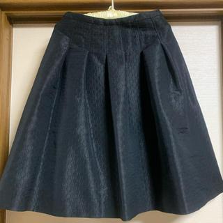 ジョルジュレッシュ(GEORGES RECH)のひざ丈スカート【さらにお値下げ】(ひざ丈スカート)