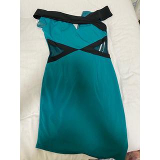 深緑!!ドレス!!