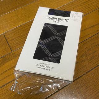 アツギ(Atsugi)の【新品】ストッキング 黒(タイツ/ストッキング)