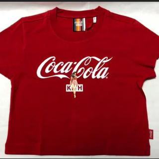 シュプリーム(Supreme)のKith X Coca-Cola Mulberry Tee Red(Tシャツ(半袖/袖なし))