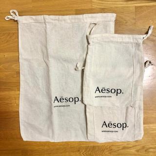 イソップ(Aesop)のイソップ 巾着 バッグ 3点セット(ショップ袋)