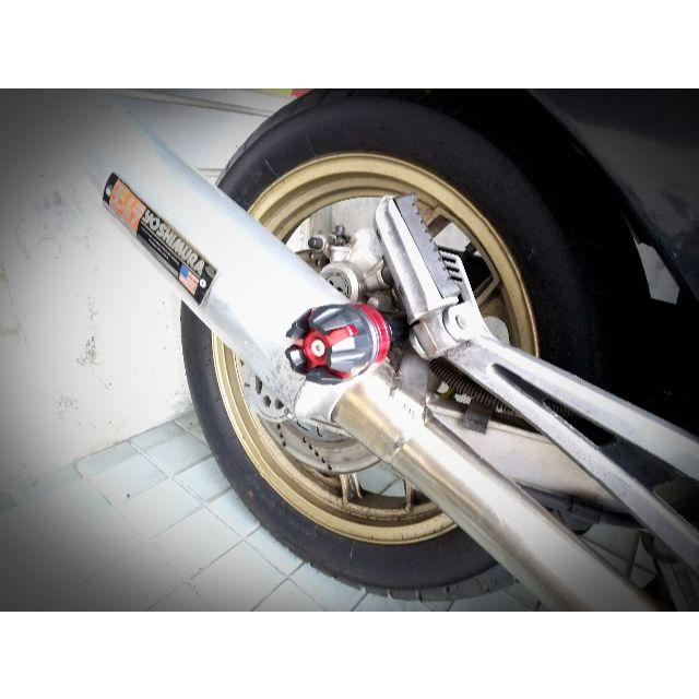 バイク マフラー サイレンサー