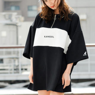 カンゴール(KANGOL)のKANGOL ハーフジップトップス トップス(Tシャツ(長袖/七分))