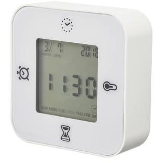 イケア(IKEA)の[新品] IKEA 置時計 ホワイト(置時計)