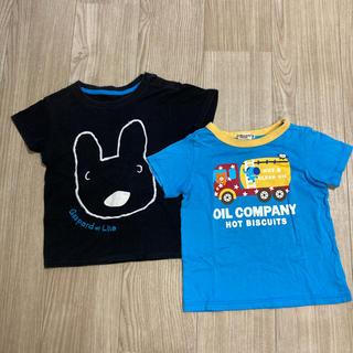 ホットビスケッツ(HOT BISCUITS)のミキハウス ホットビスケット&UNIQLOTシャツ(Tシャツ/カットソー)
