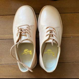 エンダースキーマ(Hender Scheme)の未使用エンダースキーマ×ドクターマーチン レザーシューズ サイズ2  (ローファー/革靴)