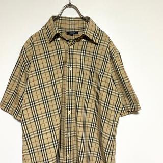 バーバリー(BURBERRY)の【美品】Burberry London nova half shirt(シャツ)