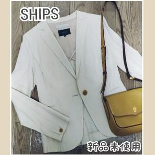 SHIPS - SHIPS✽リネンジャケット