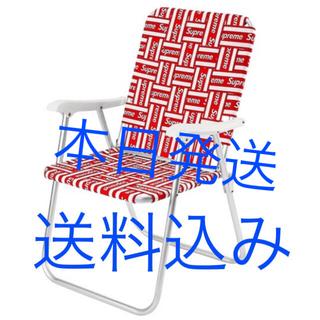 シュプリーム(Supreme)の supreme lawn chair (折り畳みイス)
