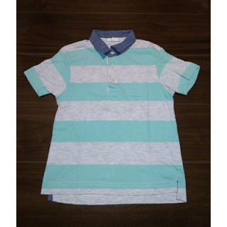 ジーユー(GU)のポロシャツ110cm(Tシャツ/カットソー)
