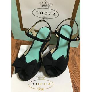 トッカ(TOCCA)のTOCCA ウエッジソールサンダル(サンダル)