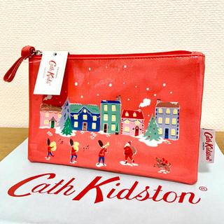 Cath Kidston - 新品 キャスキッドソン 衛兵 サンタ クリスマスデザインポーチ