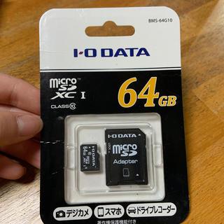 アイオーデータ(IODATA)のmicroSD 64GB(その他)