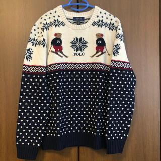 POLO RALPH LAUREN - ポロベア POLO BEAR スキー柄 セーター ボーイズサイズ XL