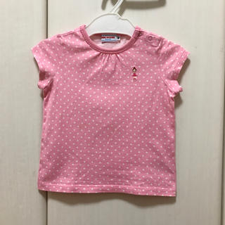ミキハウス(mikihouse)のミキハウス リーナちゃん Tシャツ 80(Tシャツ)