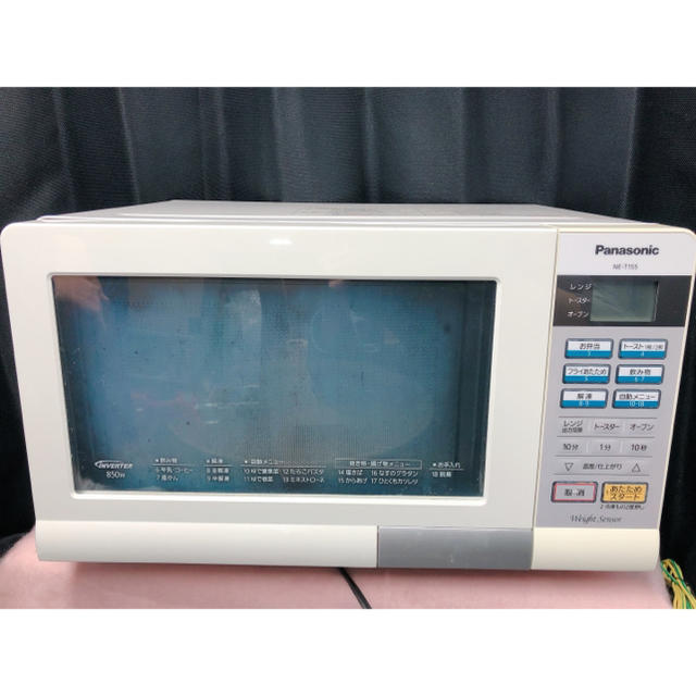 Panasonic(パナソニック)の パナソニック 電子レンジ オーブンレンジ NE-T155 スマホ/家電/カメラの調理家電(電子レンジ)の商品写真