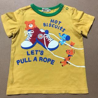 ホットビスケッツ(HOT BISCUITS)のミキハウス Tシャツ 90 ホットビスケッツ(Tシャツ/カットソー)