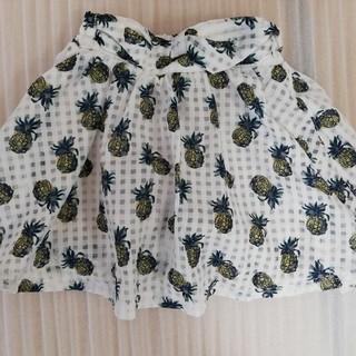 エフオーキッズ(F.O.KIDS)の(130) F.O.KIDS エフオー インナー付きスカート(スカート)