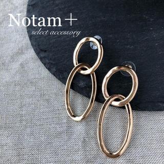 ビューティアンドユースユナイテッドアローズ(BEAUTY&YOUTH UNITED ARROWS)のN-025 double ring pierce gold(ピアス)