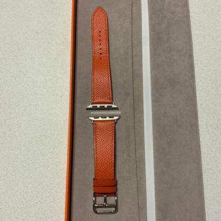 エルメス(Hermes)の(専用商品) Apple Watch 40mm エルメス レザー バンド(レザーベルト)
