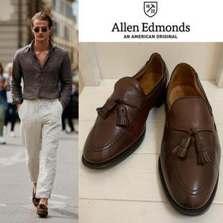 アレンエドモンズ(Allen Edmonds)のAllen Edmonds USA製 Grayson タッセルレザーローファー(ドレス/ビジネス)
