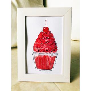 Cherry Cherry BOM BOM cupcake(印刷物)