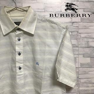 バーバリー(BURBERRY)のBurberry Black Label ボーダー シャツ ポロシャツ(シャツ)