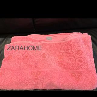 ザラホーム(ZARA HOME)の未使用❤︎ザラホーム ベッドカバー ベッドスプレッド ラグ ZARA(その他)