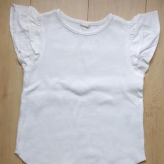 GU - 白いワッフル生地のシャツ 120