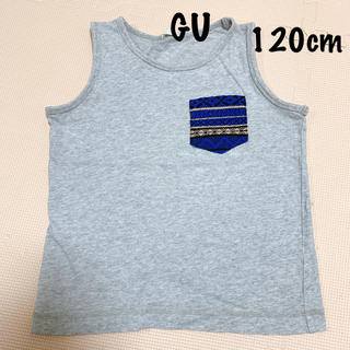ジーユー(GU)のGU:タンクトップ 120cm(Tシャツ/カットソー)