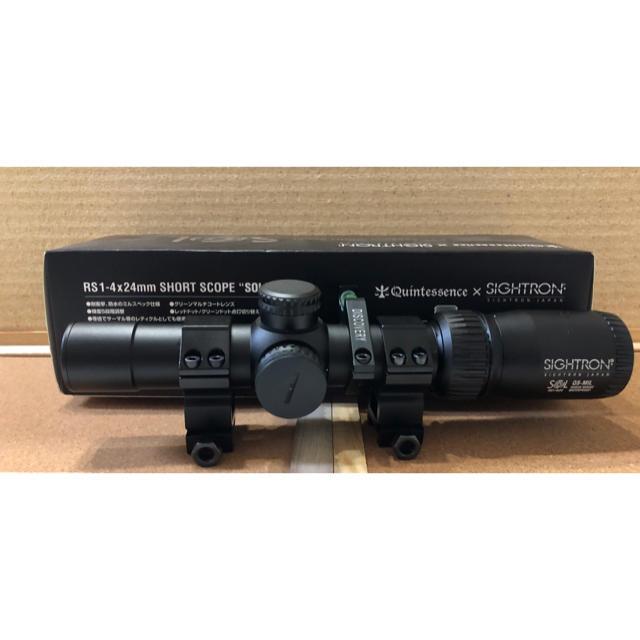 SET!クインテスセンス×サイトロンRS1-4×24mmショートスコープ SOL エンタメ/ホビーのミリタリー(カスタムパーツ)の商品写真