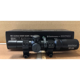 SET!クインテスセンス×サイトロンRS1-4×24mmショートスコープ SOL(カスタムパーツ)