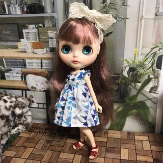 小さな袖のワンピース 17(人形)
