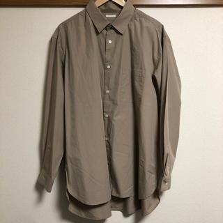 ジーユー(GU)のGU ブロードオーバーサイズシャツ(長袖)(シャツ)