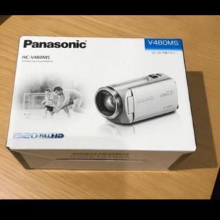 Panasonic - HC-V480MS-W パナソニック デジタルビデオカメラ