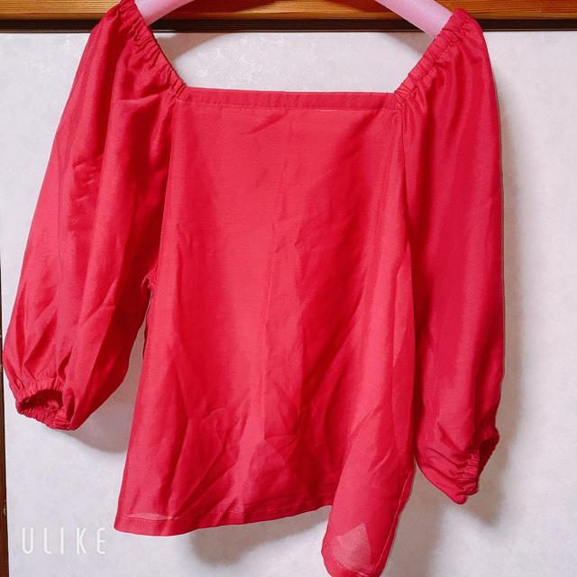 GU(ジーユー)のブラウストップス レディースのトップス(シャツ/ブラウス(長袖/七分))の商品写真