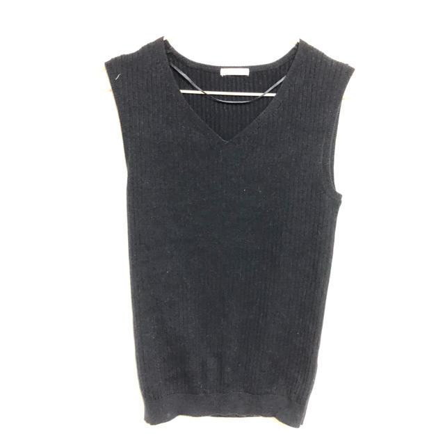 GU(ジーユー)のノースリーブニット レディースのトップス(カットソー(半袖/袖なし))の商品写真