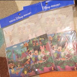 ディズニー(Disney)の新品ディズニーレターセット(カード/レター/ラッピング)