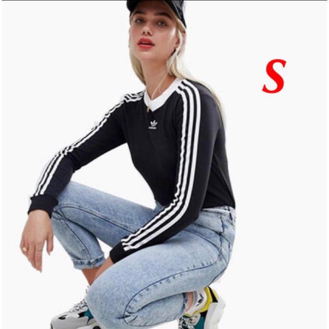 adidas(アディダス)のadidas originals ロングスリーブTシャツ レディースのトップス(Tシャツ(長袖/七分))の商品写真