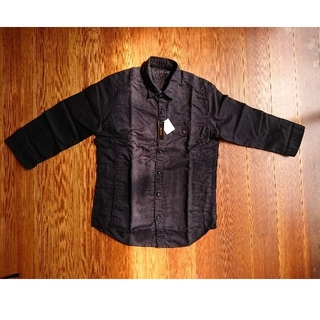 エムエフエディトリアル(m.f.editorial)の黒いシャツ(シャツ)