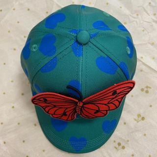 コドモビームス(こどもビームス)の新品ミニロディーニ グリーンハートキャップ 48-50(帽子)