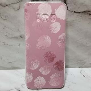 SAMSUNG - Galaxy S8♥︎dusty pink × dot soft case♥︎